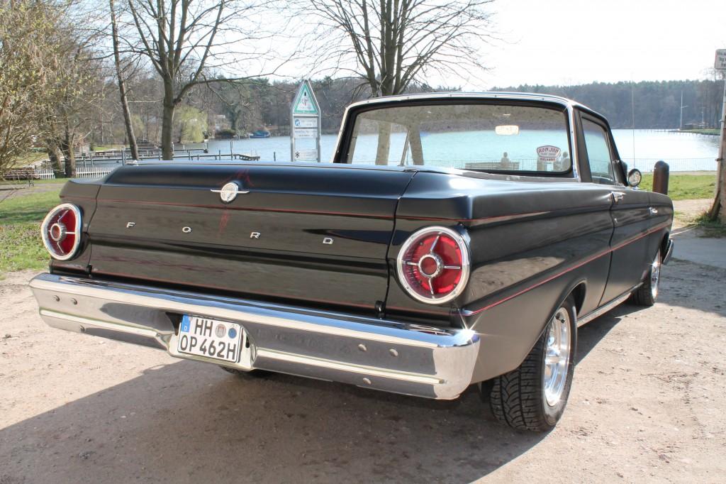 1965 ford ranchero pickup berlin mieten kaufen cruiseadors 9. Black Bedroom Furniture Sets. Home Design Ideas